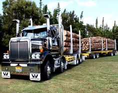 This @WstrnStarTrucks 4800SF Twinsteer packs 560hp of #Detroit DD15 muscle to tame any forest #WesternStarWednesday