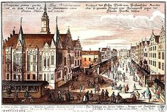 1712 Ap Art, Old Buildings, Beautiful Buildings, Poland, Paris Skyline, Cities, Black And White, Architecture, Photos