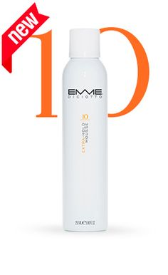 10 extra hold mousse:   Soft and firm extra-hold conditioner mousse, for a extra hold and durable. Gives great results with all types of hair styles.     #Emmediciotto #HairProducts