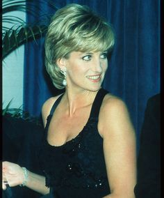 Diana's Black Burial Dress | Princess Diana's memorial day: 14 years ago the world lost her