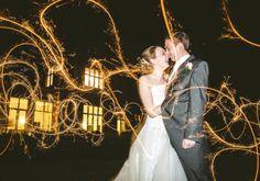 sparklers - Wedding Portfolio 1 | Norfolk & Norwich Wedding Photographer | Luis Holden Photography