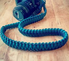 Paracord Camera Strap by CordsnSuch on Etsy Paracord Camera Strap, Trolley Case, Camera Gear, Unique Jewelry, Knots, Handmade, Etsy, Photo Ideas, Create