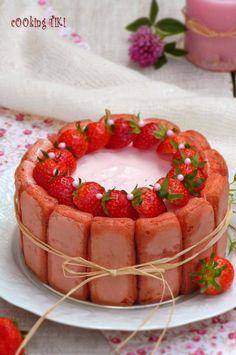 Ягодова шарлота1 680x1024 Strawberry charlotte