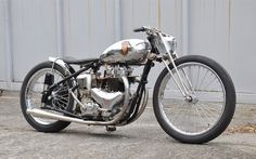"""caferacerpasion: """"BSA A7 Bobber by Cyclops Motorcycle 