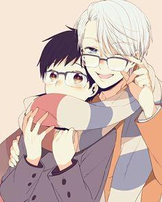 Hellu~ I'm awake ^-^ ☆ ☆ ☆ ☆ ☆ Viktor x Yuuri