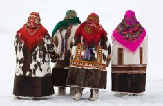 Photographer Bryan Alexander has travelled Siberia revealing aspects of the lives of the Chukchi, Dolgan, Even, Khanty, Komi, Nenets, and Nganasan people, showing how they live today in their native communities, their traditional camps, transportation and dress as well as activities such as herding, hunting and fishing
