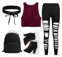 """""""Every day style"""" by irenne2004 ❤ liked on Polyvore featuring MANGO and Boohoo"""