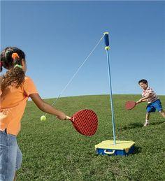 Super swingball game
