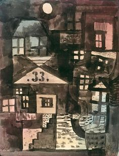 Old Town, Room 33. Paul Klee 1923