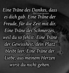 #Abschied - #Trauer - #Liebe