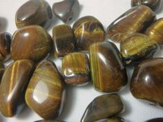 Tiger Eye Nuggets by DestashJewelrySupplies for $15.00