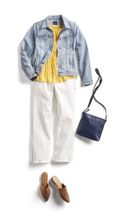 Stitch fix casual summer outfit ideas white jeans outfit, white pants, casual work outfits Best Casual Outfits, Summer Fashion Outfits, Fashion Pics, Hijab Fashion, Spring Outfits, Fashion Women, Fashion Trends, White Jeans Outfit, Stitch Fit