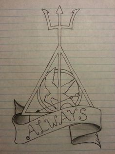 percy jackson, harry potter, and always image
