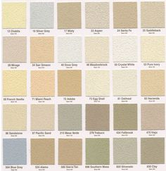 stucco paint colorsPermaFinish and PermaFlex Stucco Grade Acrylic Finish Textures