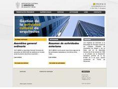 Asocuar www.asocuar.es Asociación cultural de arquitectos de Aragon y Rioja. #web #aragon #rioja #arquitectura