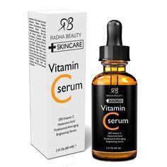 Radha Beauty Serum for Youthful Skin and Face 2 fl. oz (Vitamin C) Vitamin C #RadhaBeauty