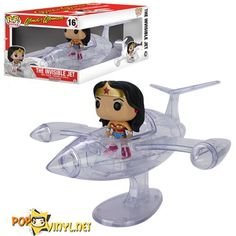 Wonder Woman Invisible Jet Pop! Vinyl Vehicle http://popvinyl.net/news/wonder-woman-invisible-jet-pop-vinyl-vehicle/  #dccomics #funko #popvinyl #wonderwoman