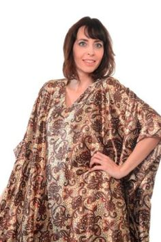Value Pack Caftans, 3 Pretty Caftans, All Different Prints, One Size Fits Most, Special#14 Up2date Fashion. $28.99