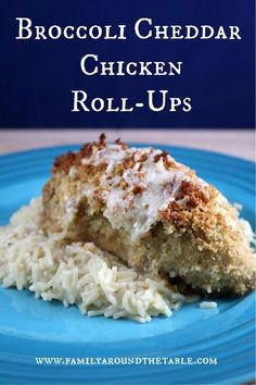 Serve broccoli and cheddar chicken roll-ups any night of the week. Chicken Recipes At Home, Recipe Using Chicken, Turkey Recipes, Dinner Recipes, Cookies And Cream Fudge, Broccoli Cheddar Chicken, Chicken Roll Ups, Friend Recipe, Cheese Bites