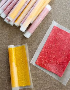 Homemade Fruit Roll-Ups are a great on-the-go snack.