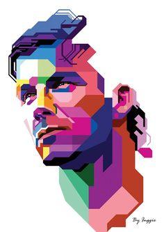 Football Design, Football Art, World Football, Sports Images, Sports Art, David Beckham Wallpaper, Beckham Football, Messi And Neymar, Soccer Art