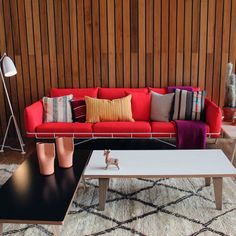 Herman Miller Wireframe Sofa: Physical and visual lightness in furniture designed by Sam Hecht and Kim Colin of Londons Industrial Facility