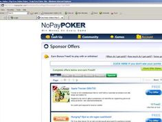 A Guide to How To Get NoPayPOKER Free Online Poker Cash FreeD Easily and...