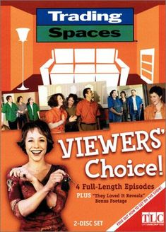 Trading Spaces - Viewers' Choice! - Trading Spaces, TLC's widly popular one-of-a-Kind decorating show, is back  with another season of intrepid neighbors, daring designers and hip how-to-decorating ideas. Paige Davis hosts some of the most entertaining episodes, handpicked by the fans, from the show's second season.... - http://ehowsuperstore.com/bestbrandsales/home-improvement/trading-spaces-viewers-choice