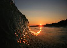 """Sunset Over Bournemouth """"Surfing photography in poole harbour and bournemouth with a canon mark ii in SPL waterhousing"""" Photo Credit : Jake Moore . Beautiful Sunset Pictures, Cool Pictures, Cool Photos, Trippy Pictures, Random Pictures, Amazing Photos, No Wave, Waves Photography, Nature Photography"""