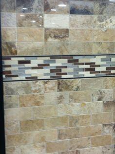 Another shower tile idea.