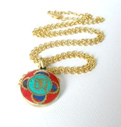 Om Necklace #yoga #jewelry #meditation