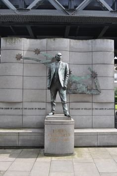 James Connolly statue Dublin Tours, Statue, Fictional Characters, Art, Craft Art, Kunst, Gcse Art, Sculpture, Art Education Resources