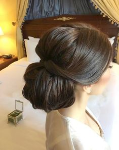 Beautiful Updos Bridal hairstyle #hairstyle #weddinghair #updos