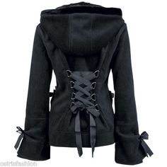 NEW GOTHIC/EMO/PUNK/ALTERNATIVE POIZEN INDUSTRIES ALICE WOMEN HOOD Love this!!!!