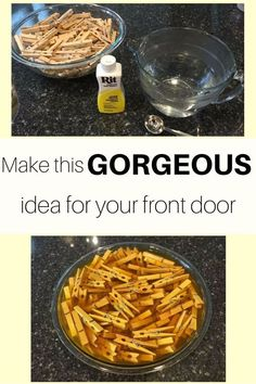 A little Rit Dye, some clothes pins, a wreath form, and a few finishing touches and you have a sunflower wreath.  Inexpensive and easy to make! For this project…