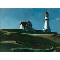 Edward Hopper, Lighthouse Hill, 1927, oil on canvas, Dallas Museum of Art, gift of Mr. and Mrs. Maurice Purnell