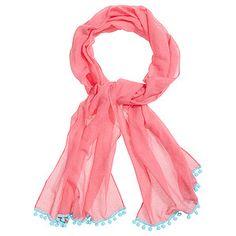 03e8ac61bb32 Tassel Trim Scarf - Pink – Target Australia  10