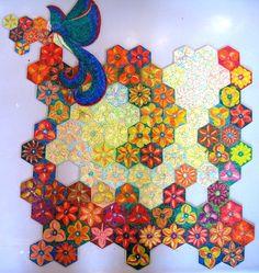 """Puzzle """"O Vôo do Beija-Flor"""" - Posição do beija-flor fora da base III - Por Antônia Sobral"""