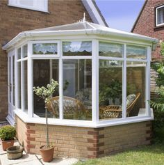 A Stylish Small Conservatory Perfect For Garden With Limited E Cost