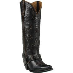 Stud Rocker is a high quality hand-made western boot with studs and secured heel strap, turquoise sole, soft insole for an extra comfortable fit, pointed toe design and convenient pull sides for easy on and off.
