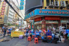Bangkok Chinatown Buddha Tempel, Bangkok, Times Square, Street View, Chinese Buildings, Tours, Tips