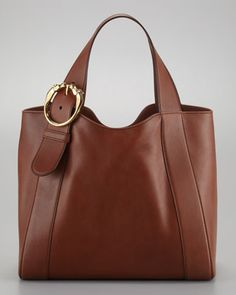 Ribot Medium Leather Tote Bag by Gucci at Neiman Marcus.