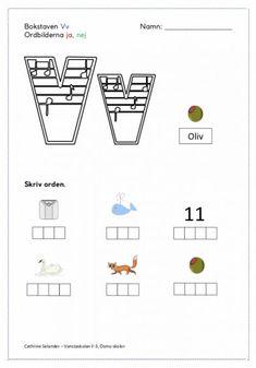 """Nästa vecka läser vi kapitel 11 och vi ska då arbeta med bokstaven """"Vv"""" och ordbilderna """"ja"""" och """"nej"""". Vi kommer även arbeta med substantiv, obestämd/ bestämd form, och sambandet mellan en vante – vanten och ett bord – bordet. Eleverna ska även träna på att läsa instruktioner. Gå in på bloggen och skriv ut därifrån så blir det bättre kvalitet :)"""