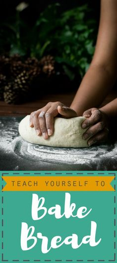 Teach yourself how to bake bread - start at these basics and you'll be baking knots, rolls, loaves, braids and more!