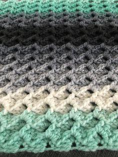 Afghan Crochet Patterns, Crochet Afghans, Crochet Bags, Crochet Blankets, Baby Blanket Crochet, Baby Blankets, Crochet Ideas, Crochet Stitches, Crochet Hooks