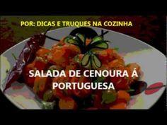 (32) 179º SAIBA COMO FAZER RECEITA SALADA CENOURA COM COENTROS AZEITONAS Á PORTUGUESA - YouTube