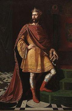LADO PATERNO | Ervigio rei dos visigodos (Museo del Prado) .