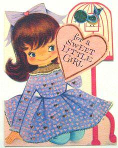 Hallmark Vintage Valentine Card