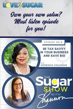 Kenesha Coleman breaks down some common errors in tracking your expenses at the salon so that you can write off as much as possible on your taxes. Save money and get these great tips on The SugarShow!