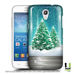 Head Case Designs Trees Christmas in Jars Hard Back Case for Samsung Galaxy Core Lite LTE G3588V